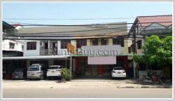 ID: 3591 - Shophouse near main road and Patuxay for rent