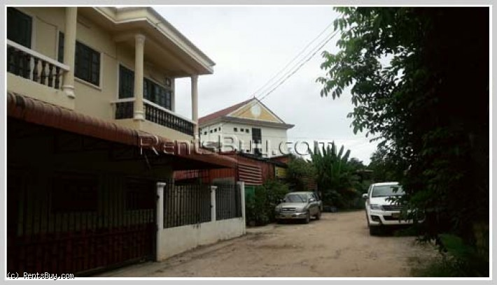 ID: 3766 - Adorable house near Joma 3 (Thatluang) with fully furnished for rent