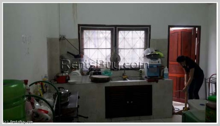 ID: 3449 - Nice shop house for rent next to main road, near Sengdala Fitness Center.