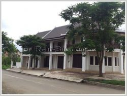 ID: 3745 - Brand new colonial shop house in town of Luangprabang Province