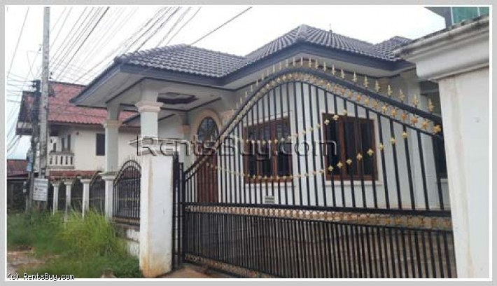 ID : 3808 - Affordable villa for rent near Sikay market and Wattay Airport