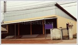 ID: 3644 - Warehouse by main road for rent near National University of Laos