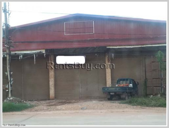 ID: 3786 - Nice warehouse near main road and near Dongmakkhai new city area