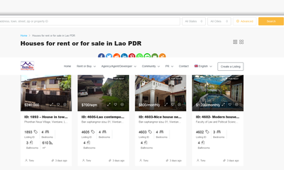 Screenshot 2021 03 29 Houses for rent or for sale in Lao PDR   RentsBuy